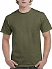 Camiseta Ultra Cotton Gildan - Military Green