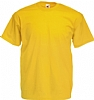 Camiseta Fruit of the Loom Value Weight Color - Girasol