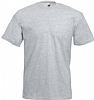 Camiseta Fruit of the Loom Value Weight Color - Gris Jaspeado