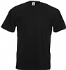 Camiseta Fruit of the Loom Value Weight Color - Negro