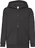 Sudadera Infantil Capucha Classic Fruit Of The Loom - Black