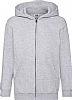 Sudadera Infantil Capucha Classic Fruit Of The Loom - Heather Grey
