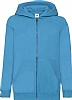Sudadera Infantil Capucha Classic Fruit Of The Loom - Azure Blue
