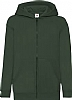 Sudadera Infantil Capucha Classic Fruit Of The Loom - Bottle Green