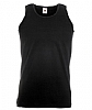 Camiseta Fruit of the Loom Atleta - Negro