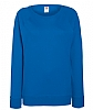 Sudadera Ranglan Ligera de Mujer Fruit of the Loom - Azul Royal