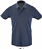 Polo Hombre Sols Perfect - Denim Jaspeado