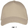 Gorra Long Beach Sols - Beige