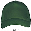 Gorra Long Beach Sols - Verde Botella