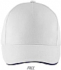 Gorra Long Beach Sols - Blanco / Marino