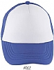 Gorra Infantil Bubble Sols - Blanco / Azul Royal