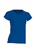 Camiseta Regular Lady Cuello Pico - Royal