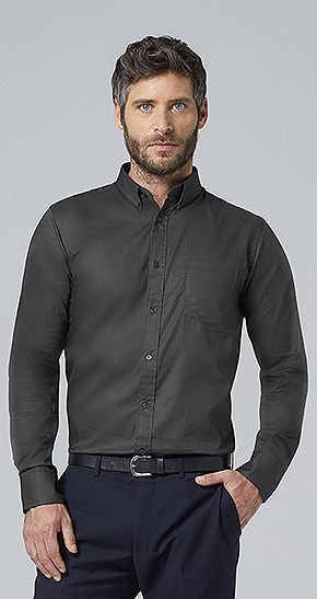 Camisa Sin Planchado Business Men Sols