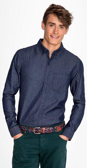 88cd08484e22a Camisa Manga Larga Hombre Barry Sols - Camisas Sols - Ecamisetas