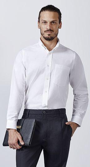 35aeb1be64 Camisa Hombre Manga Larga Oxford Roly - Camisas Roly - Ecamisetas