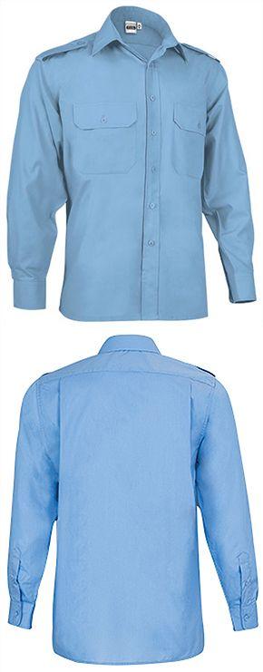 Manga Vigilant marca Valento Larga Valento Camisa HFOxS c18f9aebeb1
