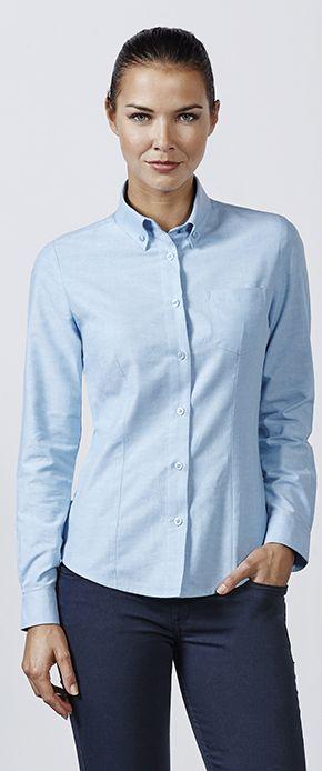 Camisa manga larga mujer ROLY 5068 Oxford woman, compra online