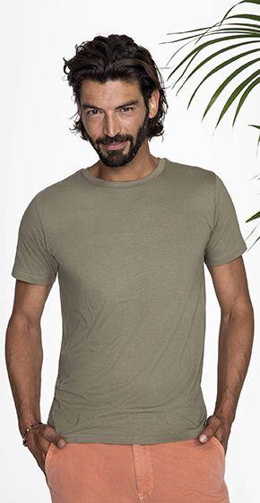 da0b9bacb Camiseta Algodon Organico Hombre Milo Sols - Algodón Orgánico Sols ...