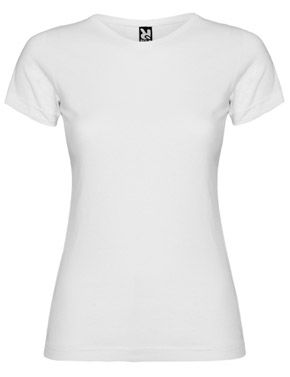 Camiseta Jamaica Mujer Blanca Roly marca Roly