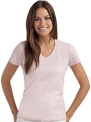 Camiseta Regular Lady Cuello Pico