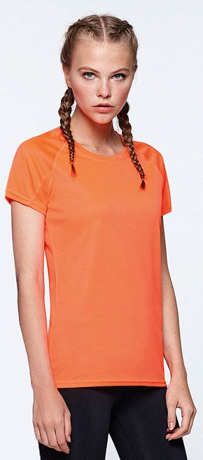 Camiseta Tecnica Mujer Bahrain Roly marca Roly