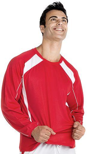 Camisetas manga larga futbol