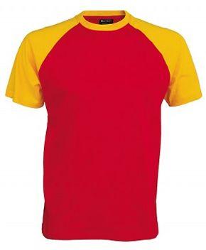 camiseta amarillo barata