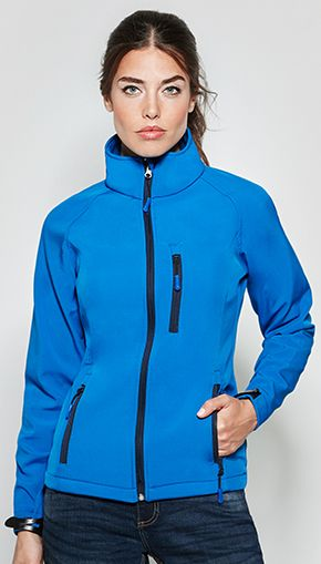 Chaqueta Soft Shell Antartida Mujer Roly marca Roly