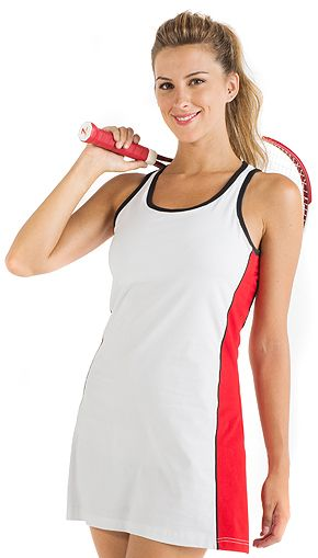 Vestido Padel Roly Williams marca Roly