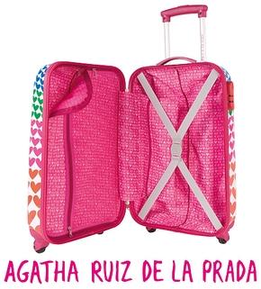 43220e6d216 Trolley Harsar Agatha Ruiz De La Prada Makito - Maletas Makito ...