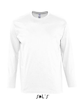 Camiseta Blanca Manga Larga Monarch Sols