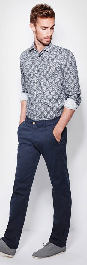 Pantalon Chino Laboral Hombre Ritz Roly marca Roly