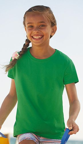Camiseta Valueweight Niña Fruit Of The Loom marca Fruit of the Loom