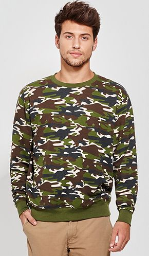 Sudadera Camuflaje Hombre Malone Roly marca Roly
