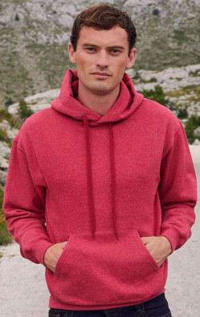 Sudadera Fruit of the Loom con Capucha marca Fruit of the Loom