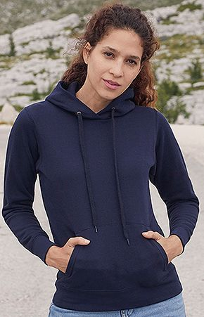 Sudadera Fruit of the Loom Capucha Mujer marca Fruit of the Loom