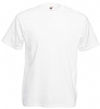 Camiseta Blanca Fruit Value Weight