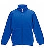 Sudadera Infantil Cremallera Fruit Of The Loom