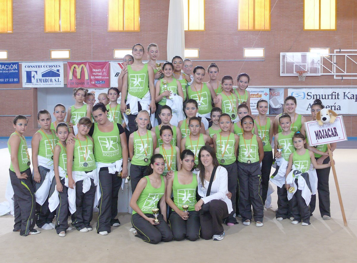 Escuela gimnasia ritmica de mojacar