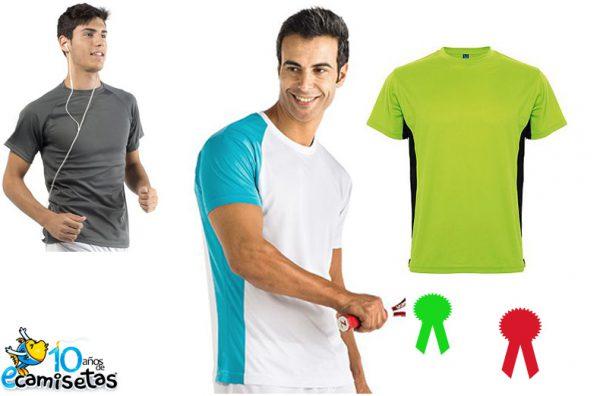 Camisetas tecnicas