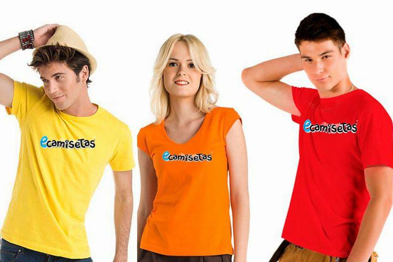 Camisetas para publicidad