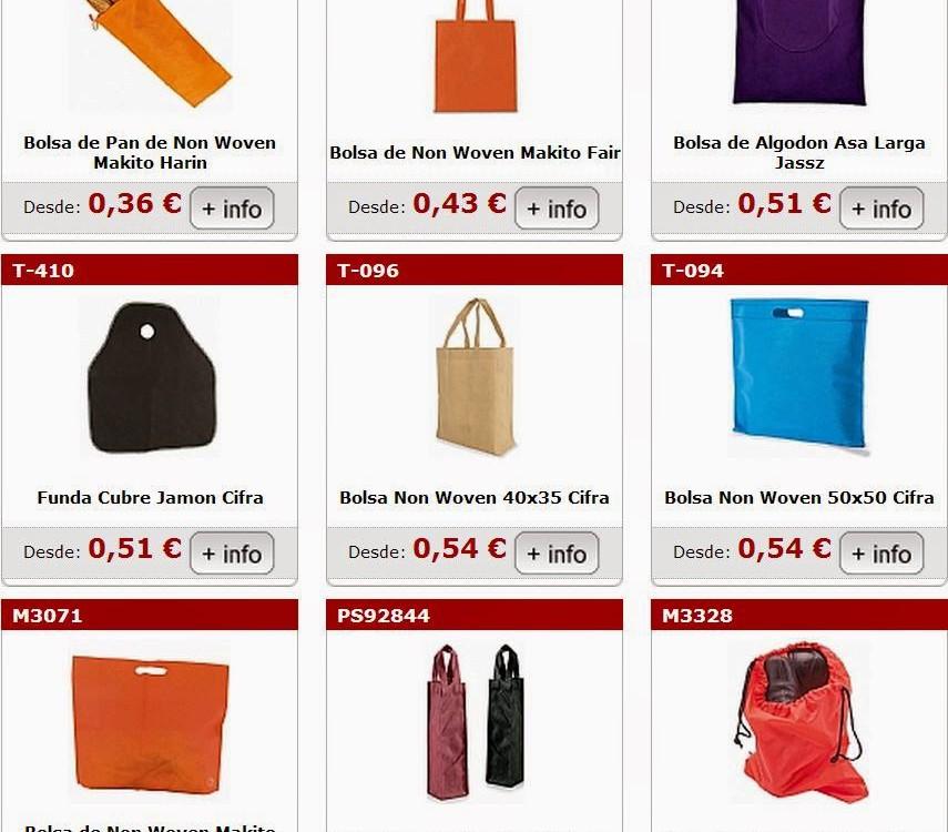 bolsas para personalizar