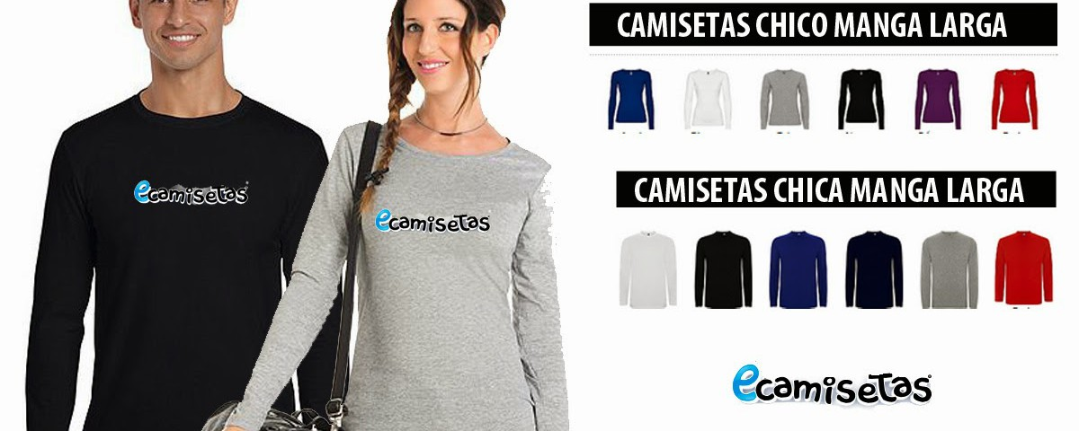 camisetas manga larga