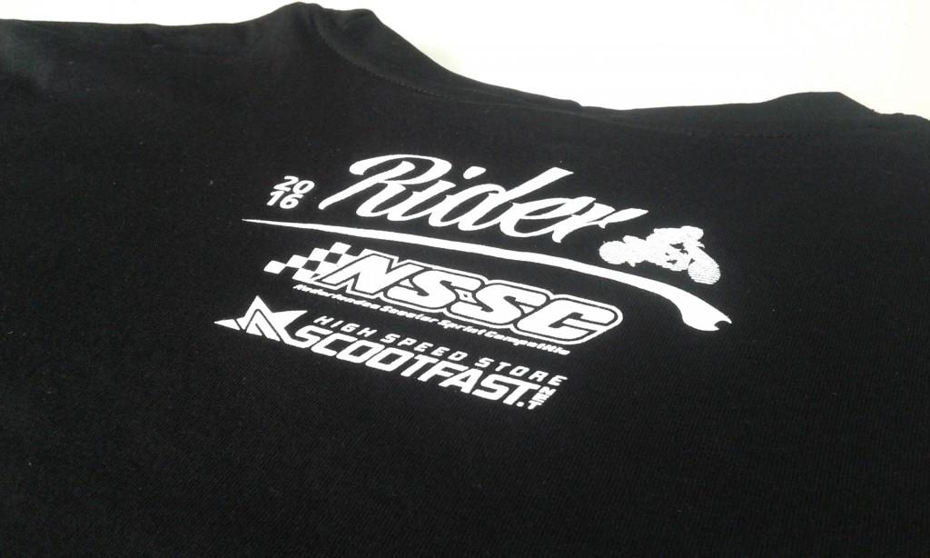 Camisetas serigrafiadas para Scootfast