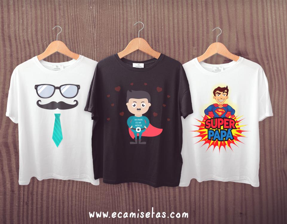 Camisetas personalizadas para el Día del Padre