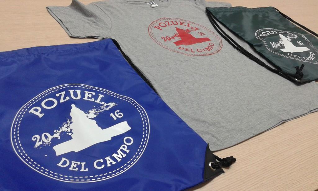 Camiseta y bolsa personalizada