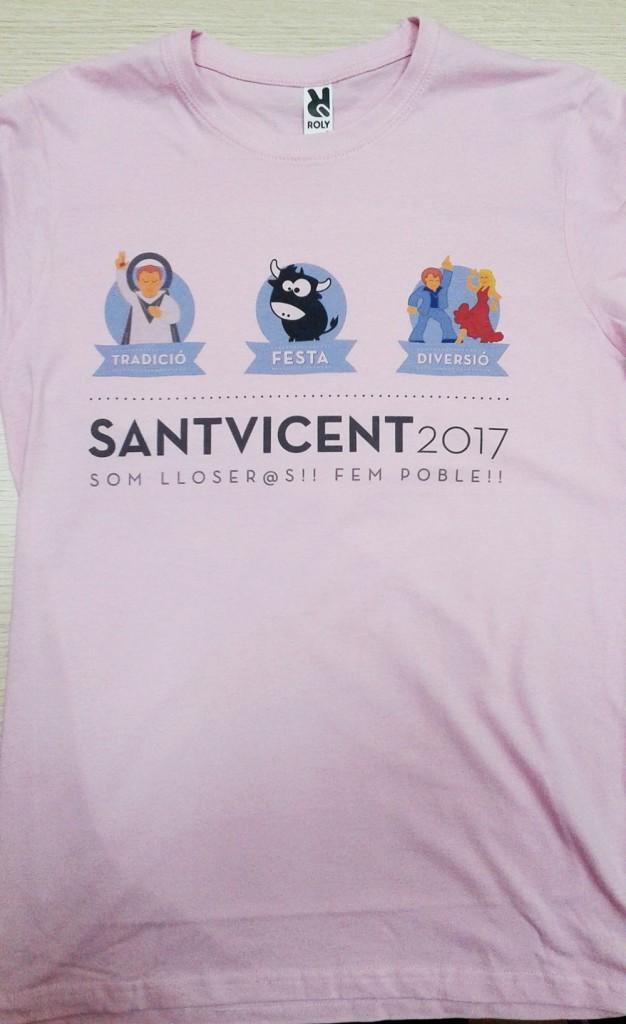 Camisetas para festeros