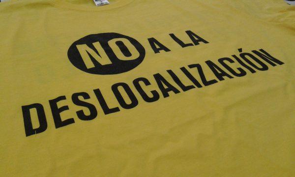 Camisetas personalizadas para manifestaciones