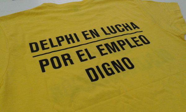 Camisetas para manifestación barcelona