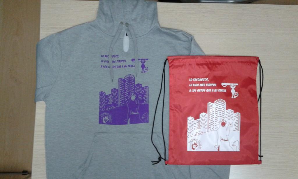 Camisetas, sudaderas y mochilas personalizadas Madrid